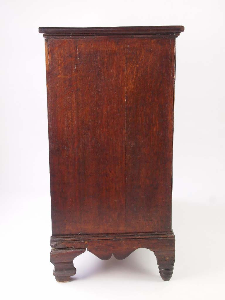 Antique Georgian Chest Of Drawers Carved Gothic Chest Of