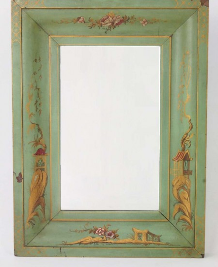 Antique Chinoiserie Mirror
