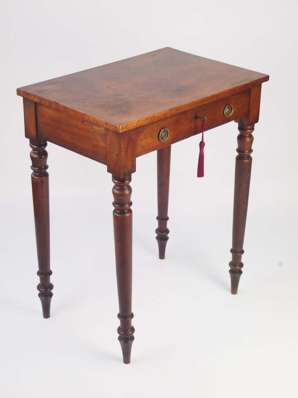 small antique victorian writing desk side table