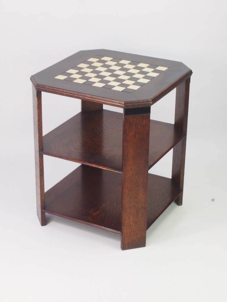 Art deco chess table art deco oak coffee table for sale for Direct furniture