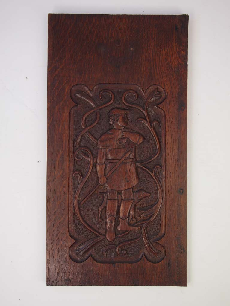 Arts And Crafts Furniture Carved Relief