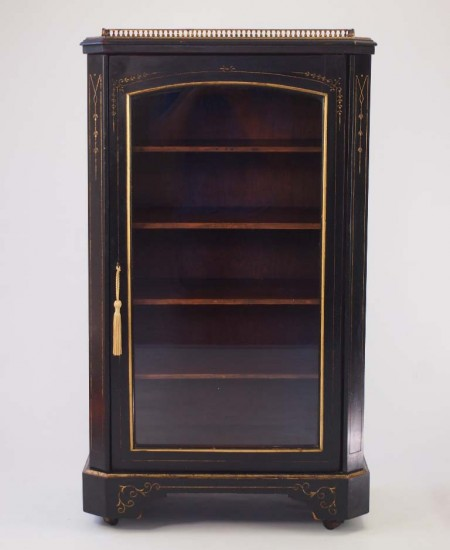 Victorian Aesthetic Movement Music Cabinet