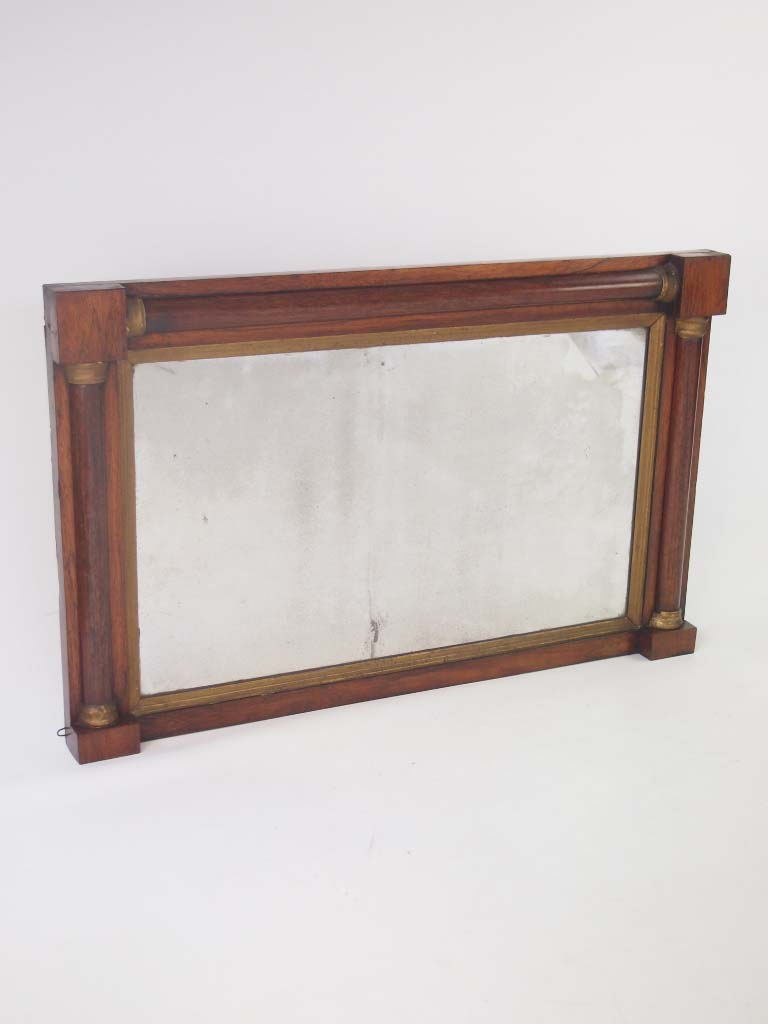 Antique regency rosewood overmantle mirror for sale for Overmantle mirror
