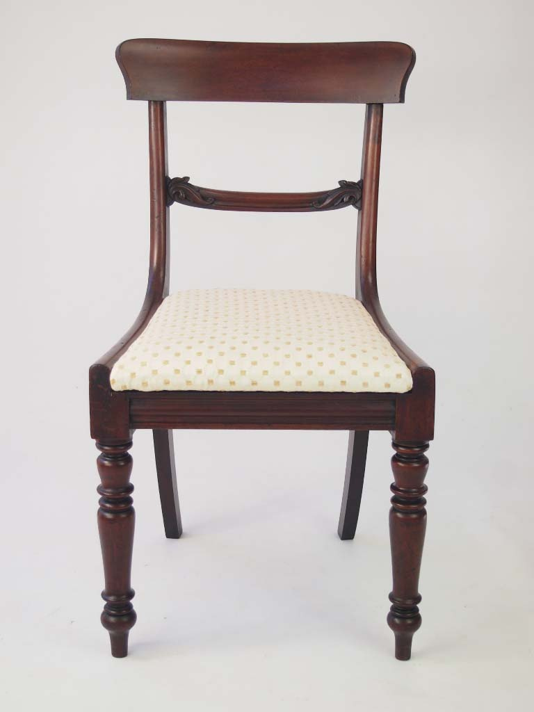Set 4 Antique Early Victorian Dining Chairs For Sale : P1014307 768x1024 from www.antiquefurnituredirect.co.uk size 768 x 1024 jpeg 58kB