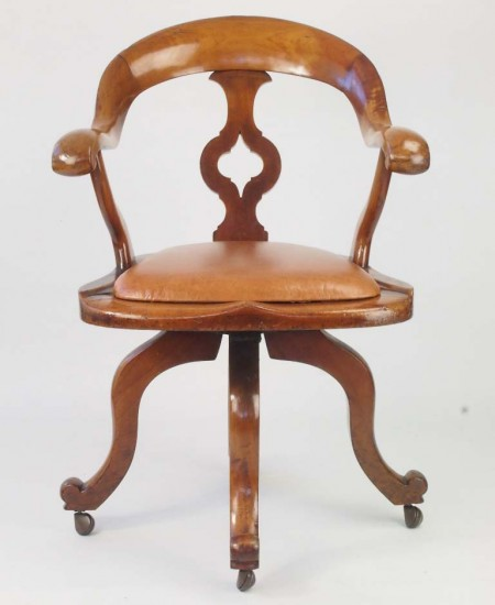 Victorian Swivel Chair