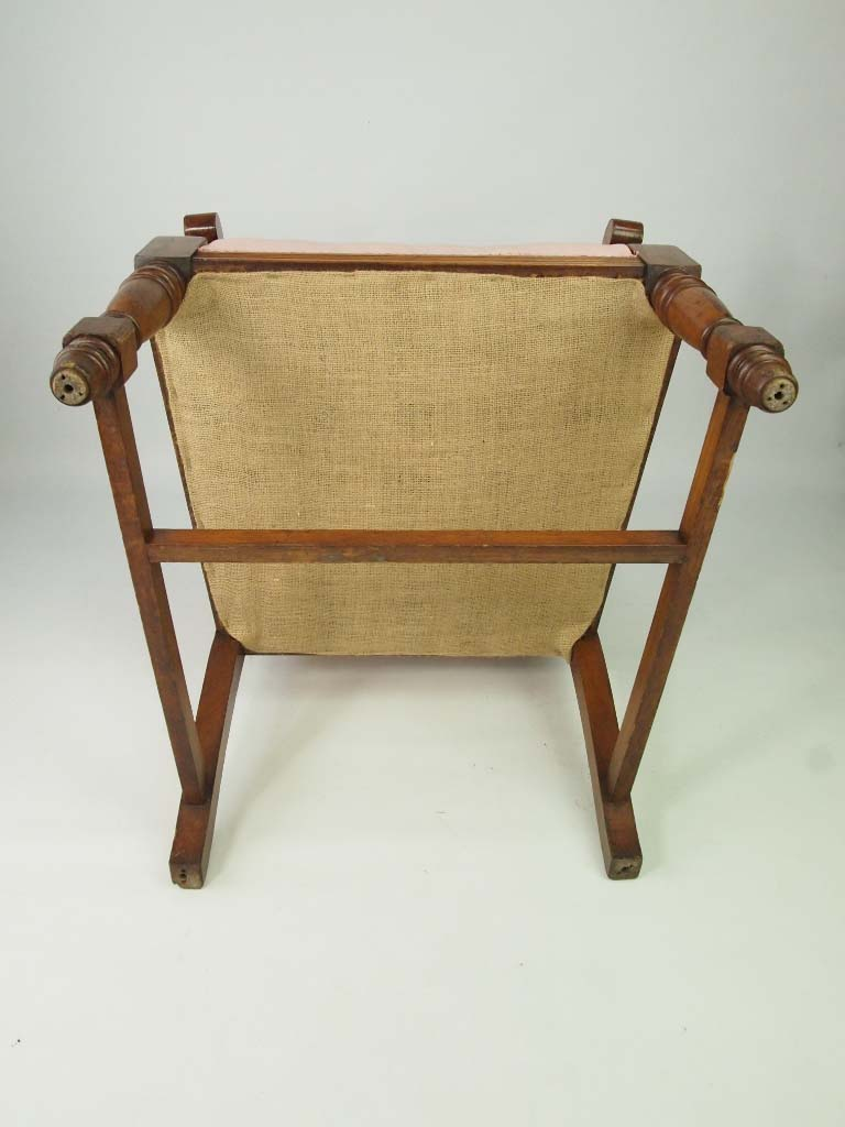 Edwardian Oak Armchair For Recovering Set 4 Available