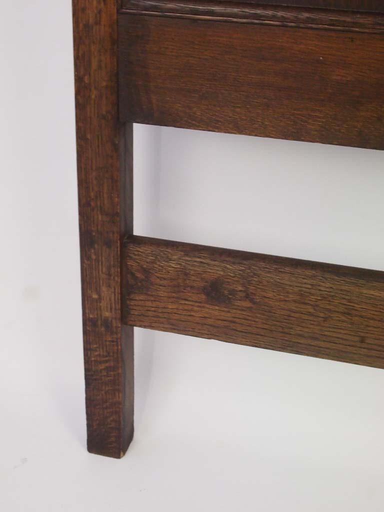 Pair of oak headboards for single beds for Single bed headboards