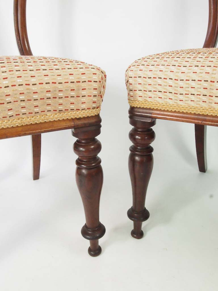 Set 4 Antique Early Victorian Dining Chairs