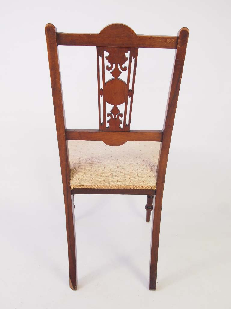 edwardian bedroom chairs. set 6 edwardian dining chairs bedroom r
