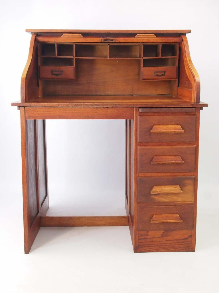 100 roll top desk with hutch unfinished secretary desk desk