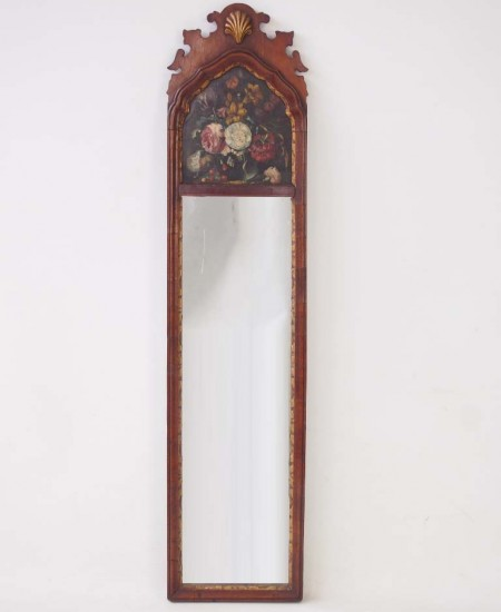 Edwardian Painted Georgian Style Mirror