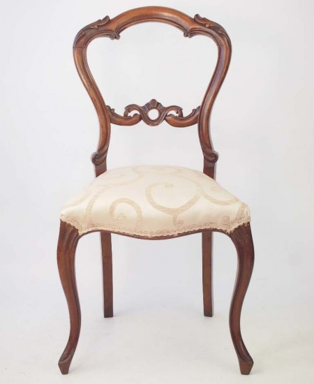 Victorian Balloon Back Chair