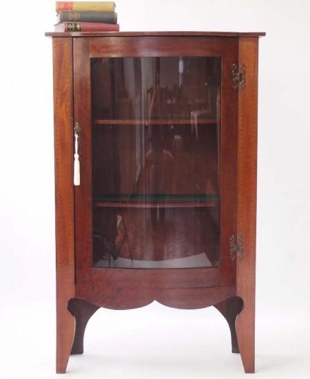 Antiqe Edwardian Mahogany Bookcase