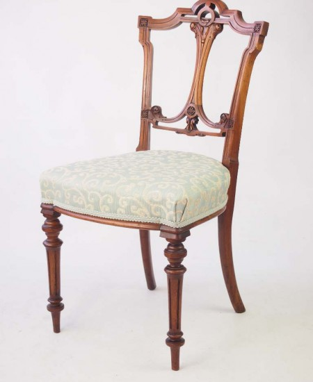 Antique Victorian Balloon Back Chair
