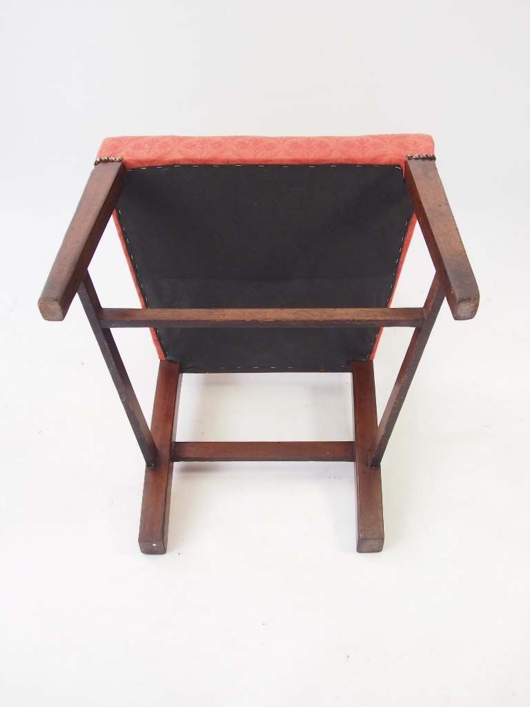 Pair small antique georgian mahogany side chairs for Small side chair