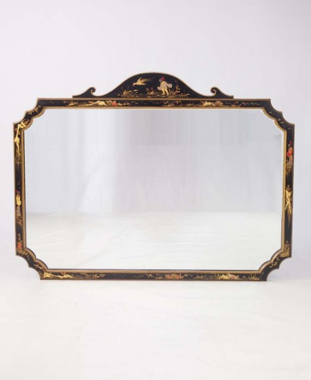 Large Chinoiserie Mirror