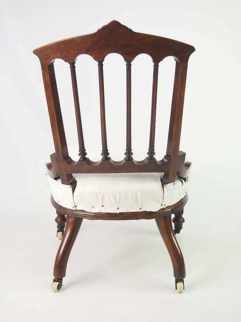 Dressing Table Chairs And Stools: Small Antique Victorian Chair / Dressing Table Chair