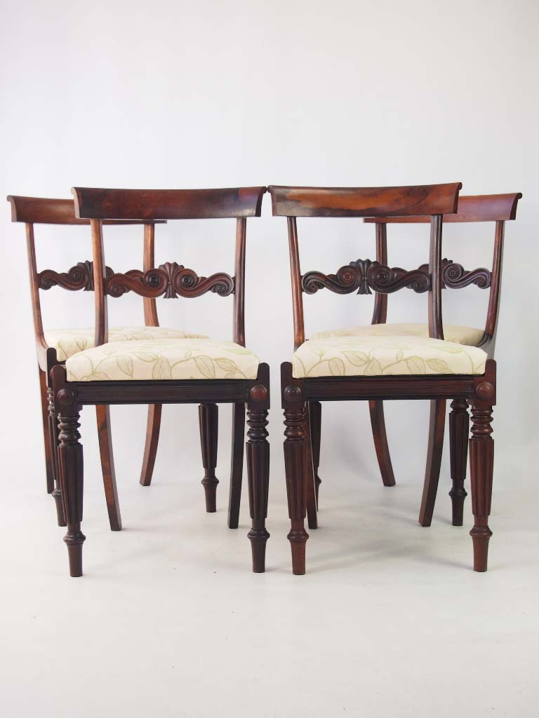 Set 4 Antique William IV Rosewood Dining Chairs : P1013907 768x1024 from www.antiquefurnituredirect.co.uk size 768 x 1024 jpeg 76kB