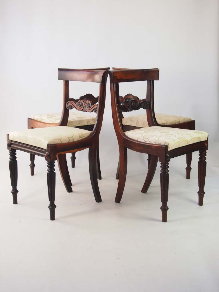 Set 4 Antique William IV Rosewood Dining Chairs : P1013908 768x1024 from www.antiquefurnituredirect.co.uk size 768 x 1024 jpeg 69kB