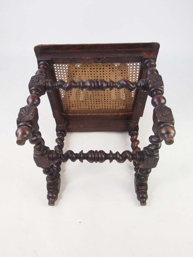 Set 4 antique victorian gothic oak chairs for Victorian gothic chair