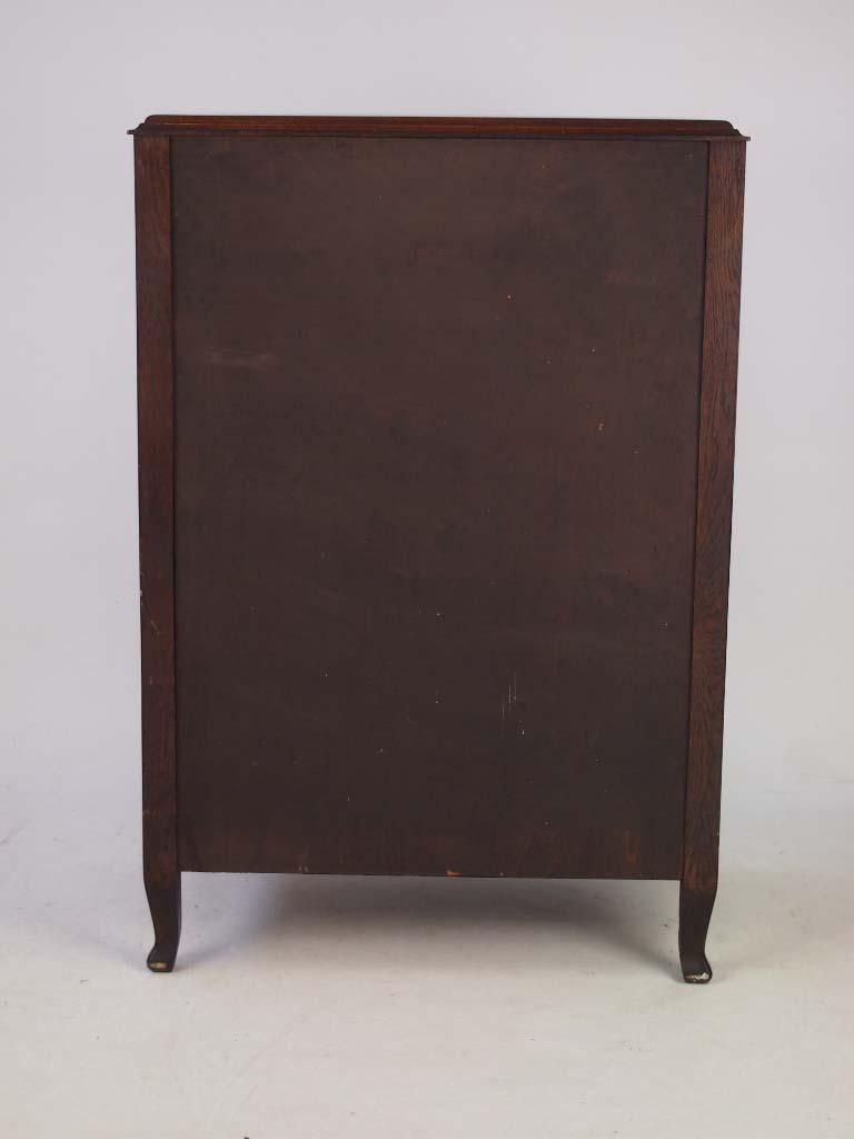 Vintage oak music cabinet document cabinet for Furniture direct