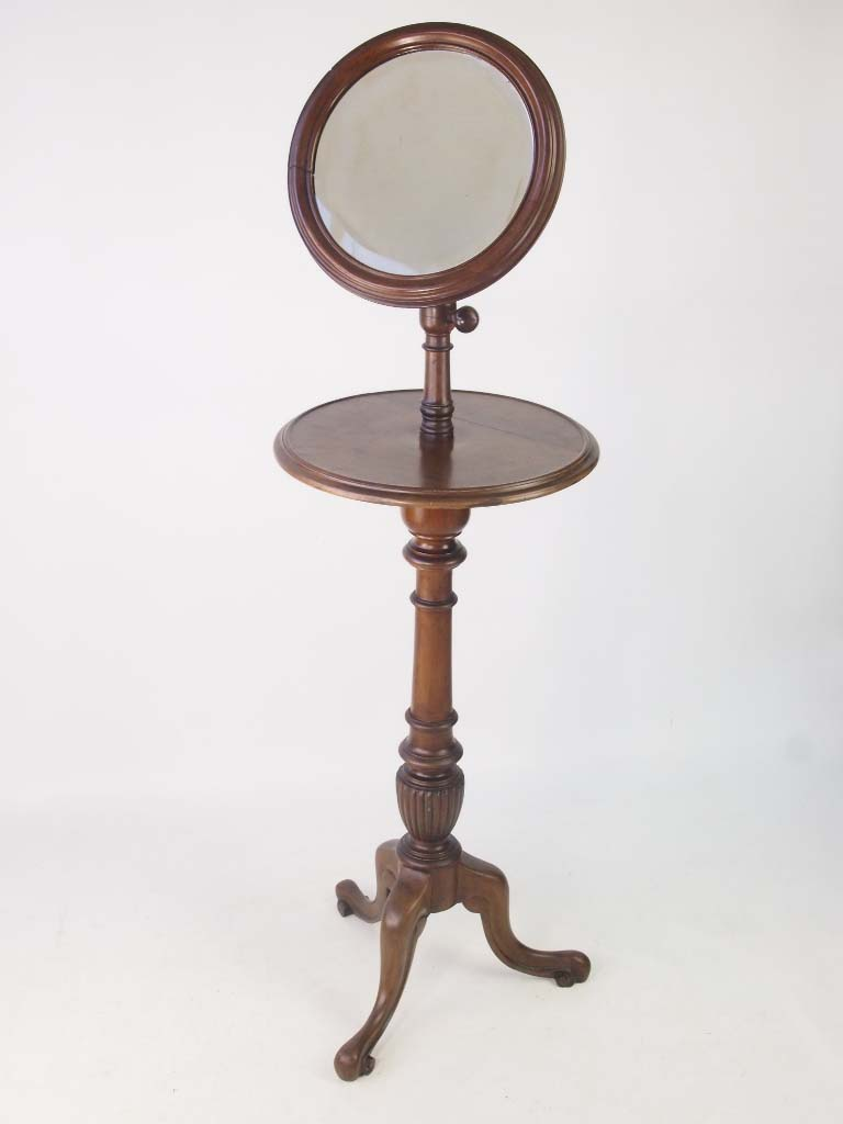 Victorian Gentleman S Shaving Stand With Adjustable Mirror
