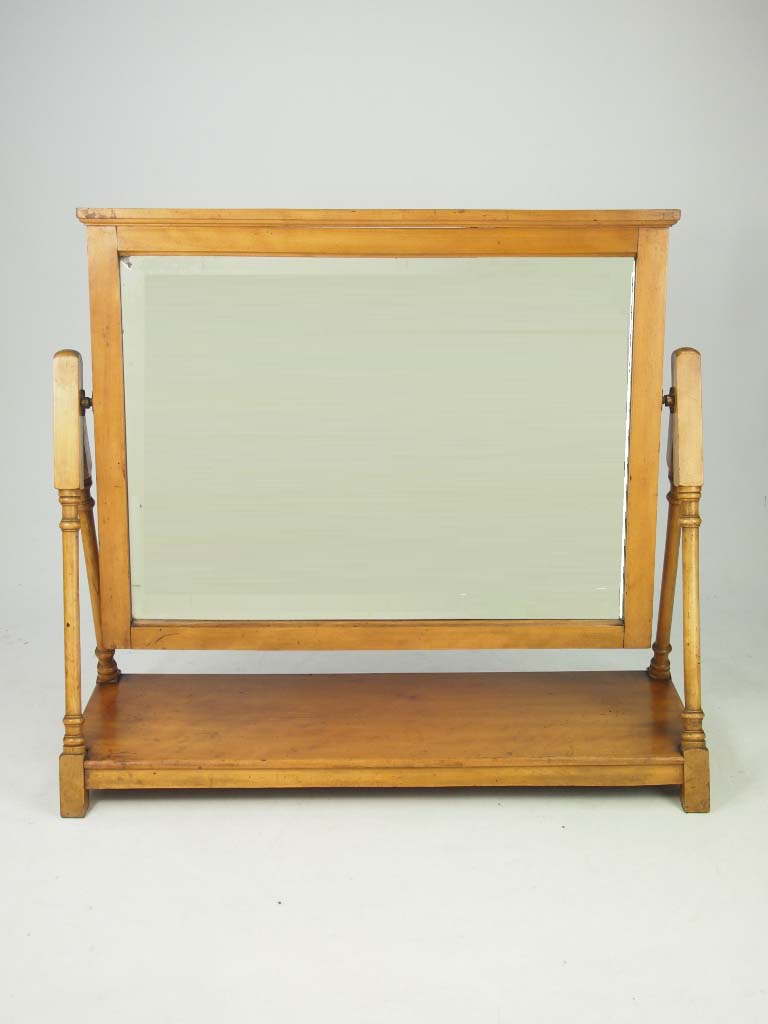 Victorian Arts Crafts Dressing Table Mirror