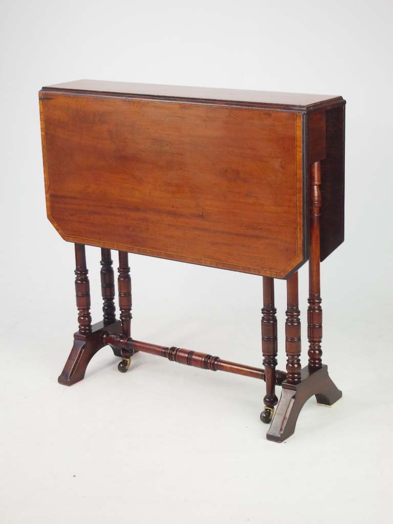 Antique Victroian Sutherland Table By Cornelius V Smith