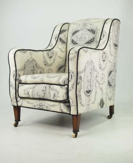 Edwardian Rosewood Armchair