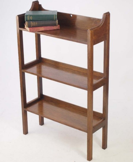 Arts and Crafts Oak Bookcase