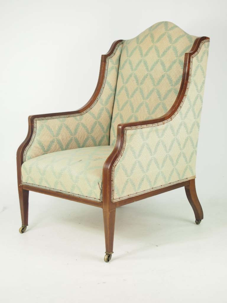 Antique Edwardian Armchair for Recovering/Reupholstery