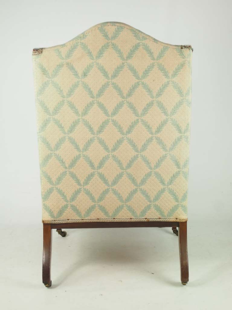 Antique Edwardian Armchair For Recovering Reupholstery