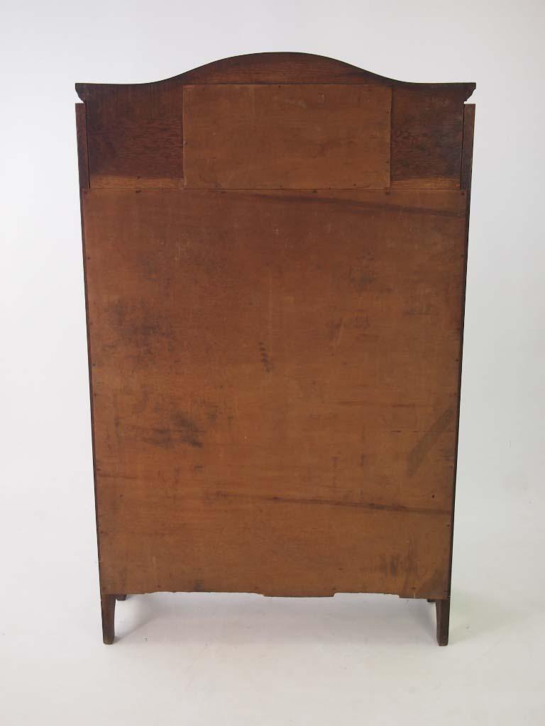 slim edwardian arts crafts oak hall bureau. Black Bedroom Furniture Sets. Home Design Ideas