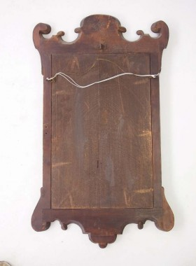 George I Walnut Mirror