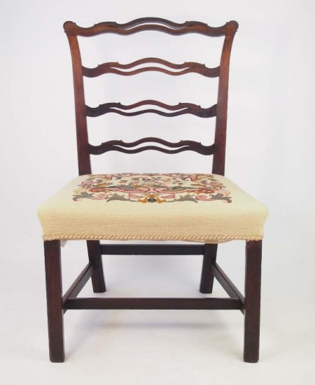 Georgian Mahogany Chair