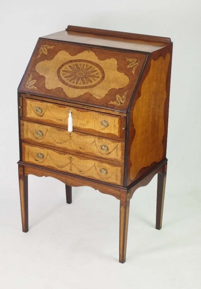 Antique Edwardian Bureau
