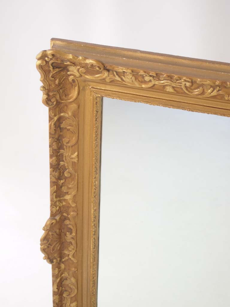 Large Vintage Gilt Framed Mirror