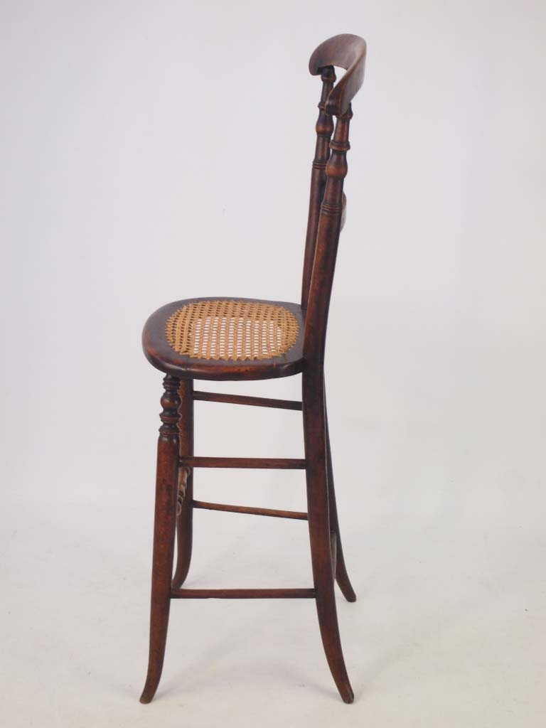 antique victorian childs correction chair beech rosewood deportment stool ebay. Black Bedroom Furniture Sets. Home Design Ideas