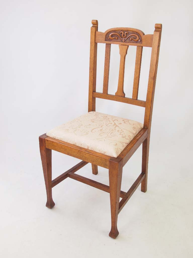 Arts and crafts chairs -  His And Hers Oak Arts Crafts Chairs