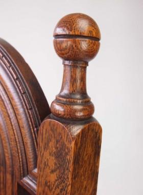 Set 6 Antique Liberty & Co Lochlevan Oak Chairs