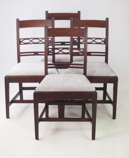 Set 4 Georgian Dining Chairs