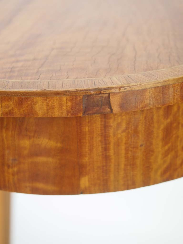 Small Satinwood Side Table Or Lamp Table
