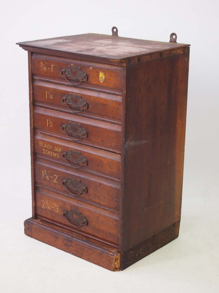 Small Bank Of Drawers Carpenters Cabinet