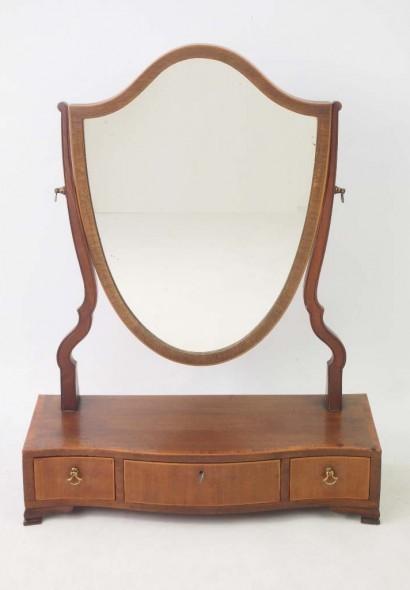 Edwardian Toilet Mirror