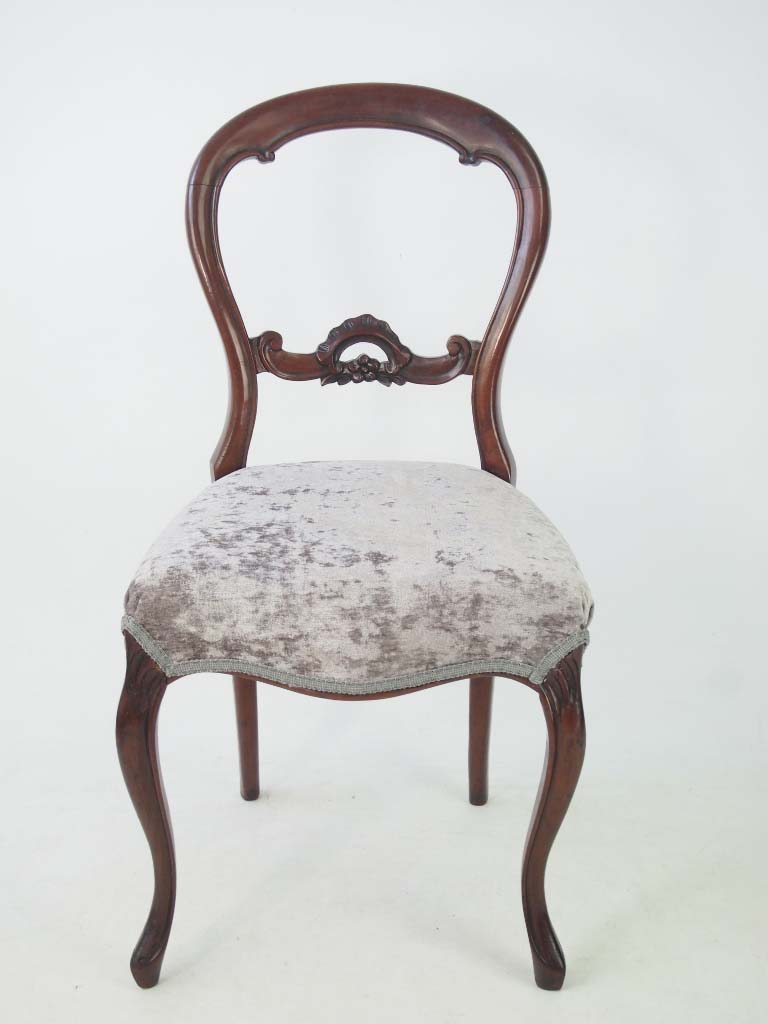 Thumb back chairs and antique