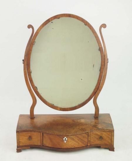 Georgian Toilet Mirror
