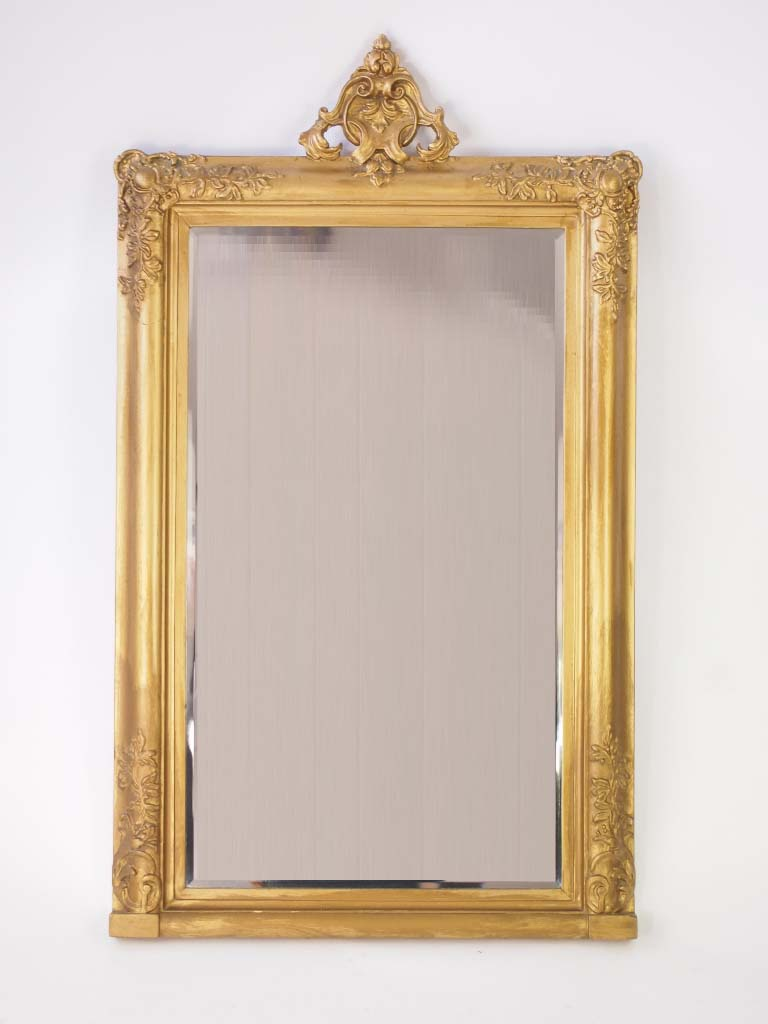 Antique victorian gilt mirror for Victorian mirror