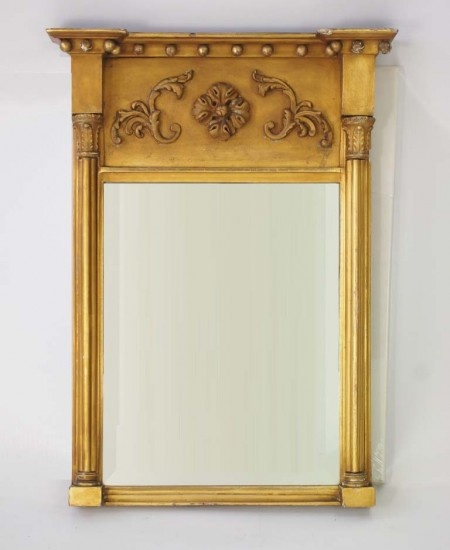 Antique Regency Pier Mirror