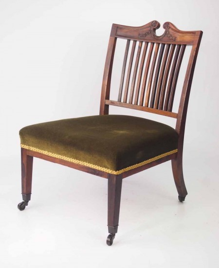 Marsh Jones and Cribb Rosewood Chair