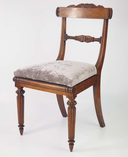 William IV Rosewood Desk Chair
